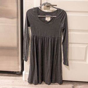 Soft long-sleeve dress
